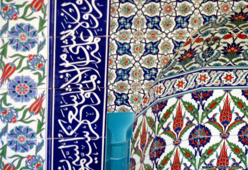 Arabesque in einer Moschee