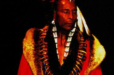 Indianer – Buffalo Child, der Cherokee