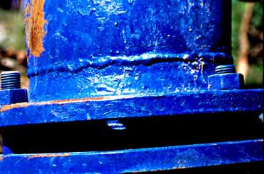 Volles Rohr! Der Farbrausch in Blau