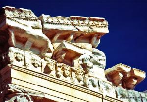 Alter Apollon Tempel in Side