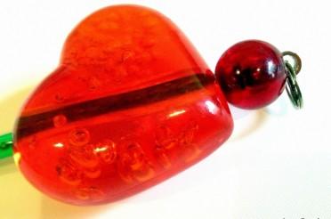 Herz aus Plastik für das Montagsherz #106
