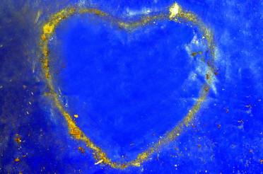 Herzförmiger Schmutzrand für das Montagsherz #111