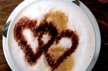 Cappuccino mit Herz für das Montagsherz #115