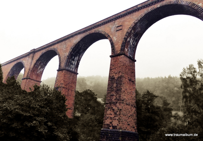 Eisenbahnbrücke in Hessen