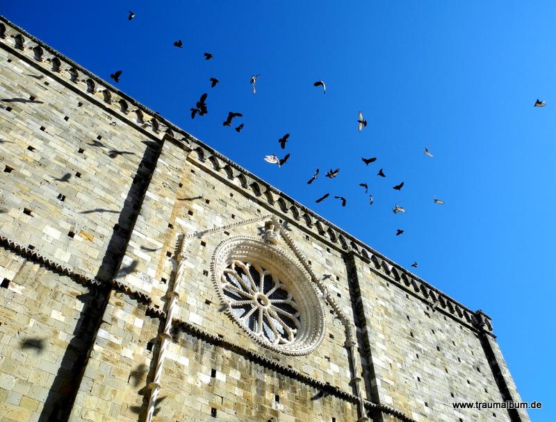 Der Himmel über Italien
