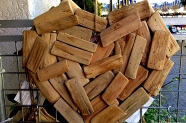 Herz aus Holzspreißel für das Montagsherz #112