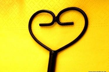 Serviettenhalter mit Herz für das Montagsherz #116