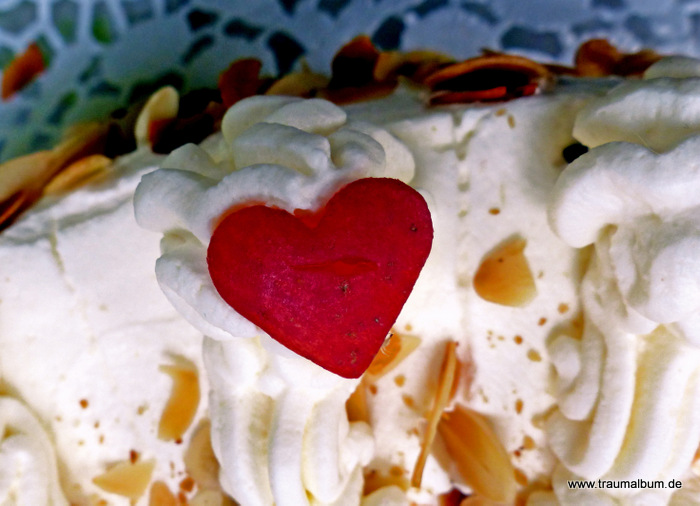 Herz mit Kalorien - Tortendekoration für das Montagsherz #121