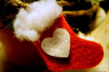 Ein Nikolausstiefel mit Herz für das Montagsherz #120
