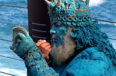 Poseidon, der Gott der Meere und Ozeane