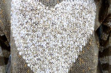 Pullover mit Herz für das Montagsherz #126