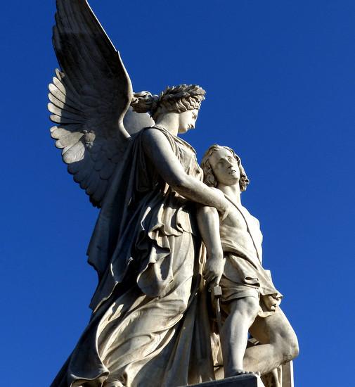 Engel von Berlin - Mein Beitrag für die Aktion Send me an Angel #12