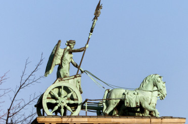 Die Quadriga in Berlin für Send me an Angel #13