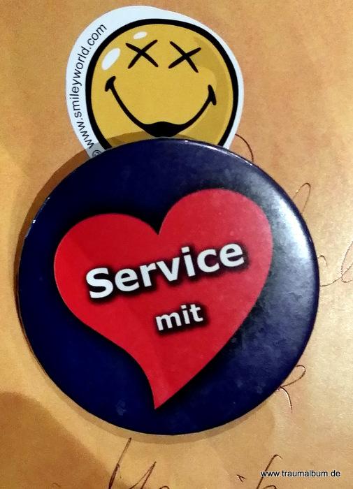 Service mit Herz