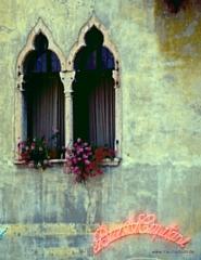 Fenster von Bar Ai Capitani