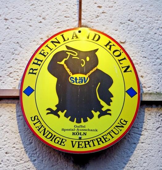 Logo der Brauerei Gaffel