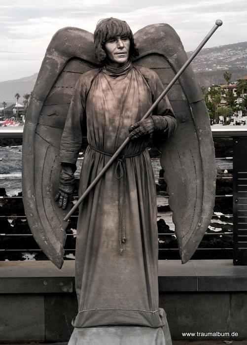 Straßenkünstler auf Teneriffa für Send me an Angel #23