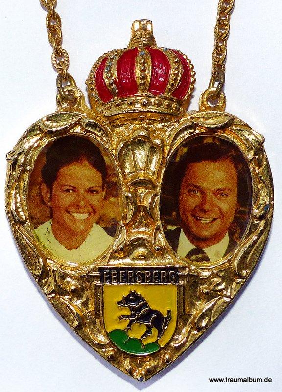 Das schwedische Königspaar für das Montagsherz #140