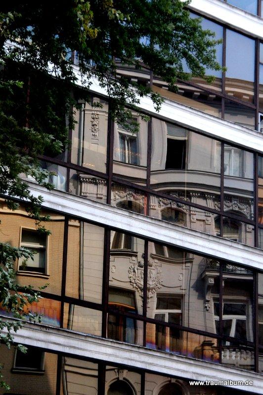 Spiegelung in Warschau