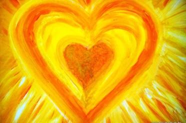 Gelbes Herz für das Montagsherz #149