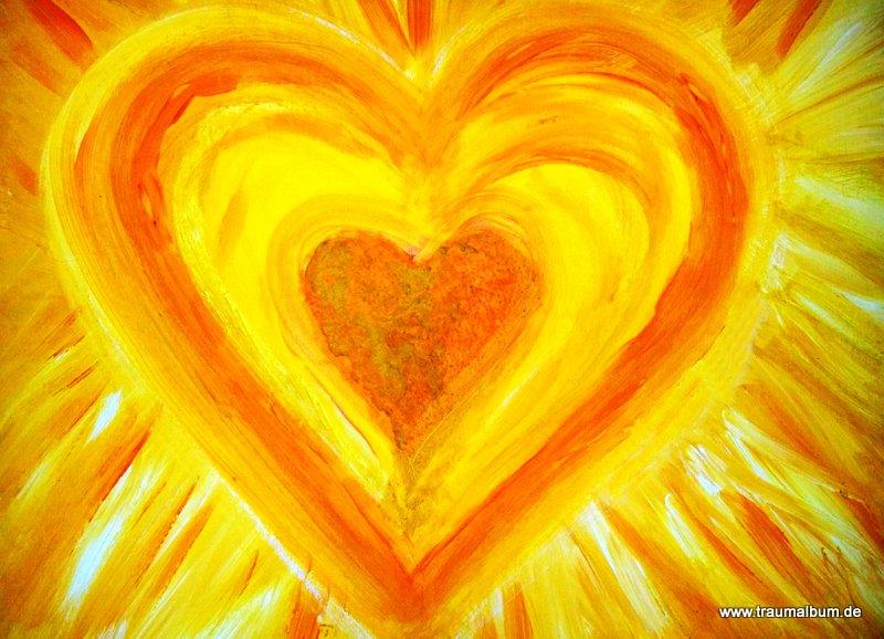 Gelbes Herz