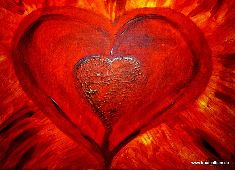 Rotes Herz für das Montagsherz #148
