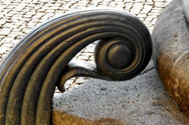 Spiralen ohne Ende #4 vom Brandenburger Tor
