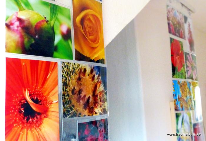 Lieblingsfotos als Vorhang