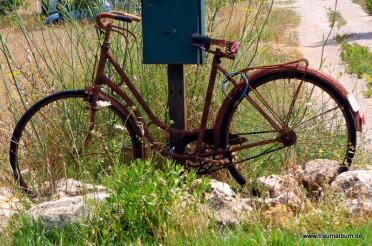 Rostiges Fahrrad oder: Radeln auf Mallorca