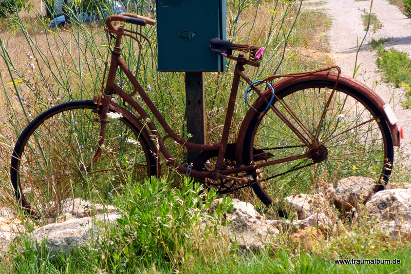 Rostiges Fahrrad - Rostiges Fahrrad oder: Radeln auf Mallorca