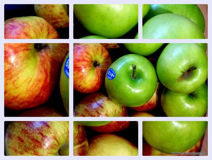 Meine Lieblingsfotos von Äpfeln