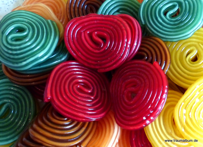 Bunte Schnecken für Spiralen ohne Ende #7