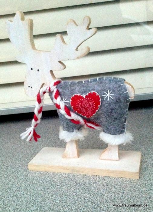 Elch mit Herz - Elch mit Herz für das Montagsherz #159