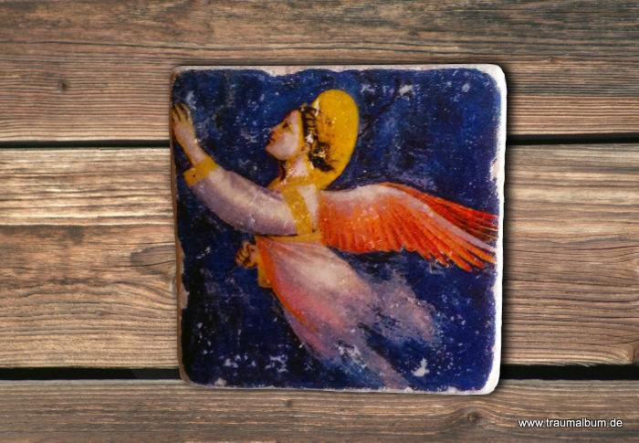 Engel als Magnetpin
