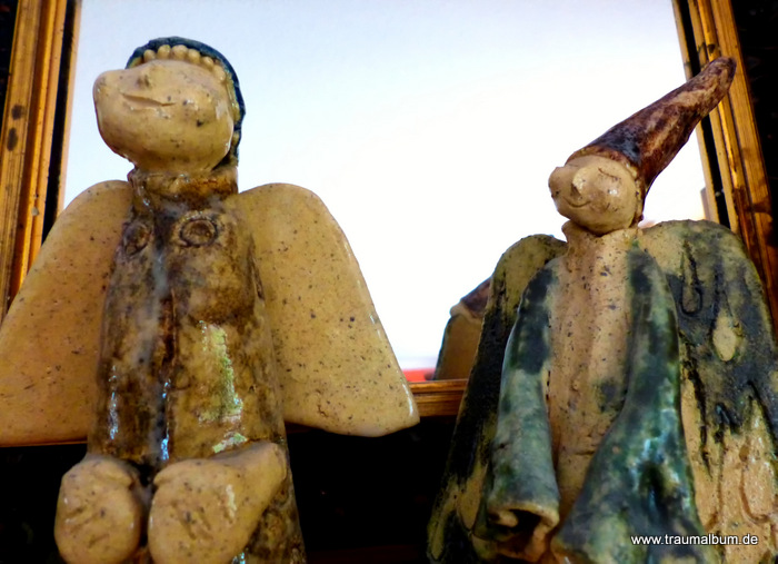 Keramikengel die Zwote für Send me an Angel #39