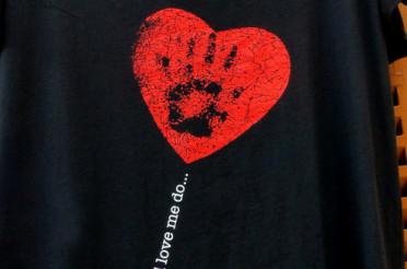 T-Shirt mit Herz für das Montagsherz #157