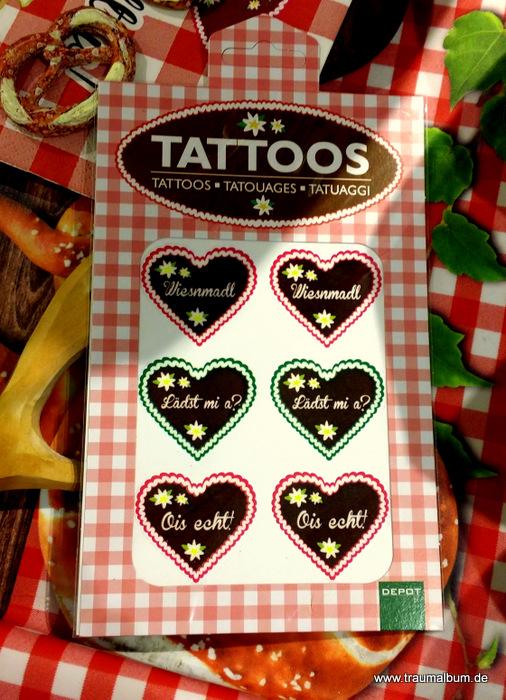 Tattoos mit Herz für das Montagsherz #163