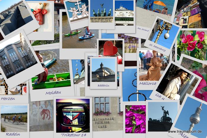 Collage Urlaubsfotos 2014