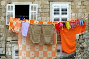 Waschtag in Dubrovnik