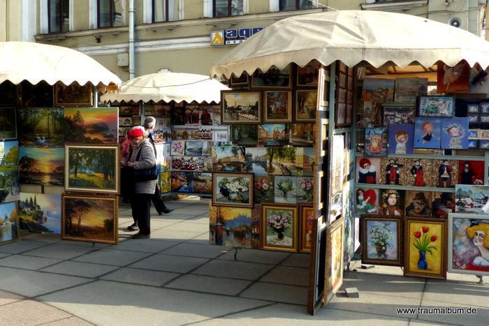 Bilder in St. Petersburg für Bildbearbeitungssoftware