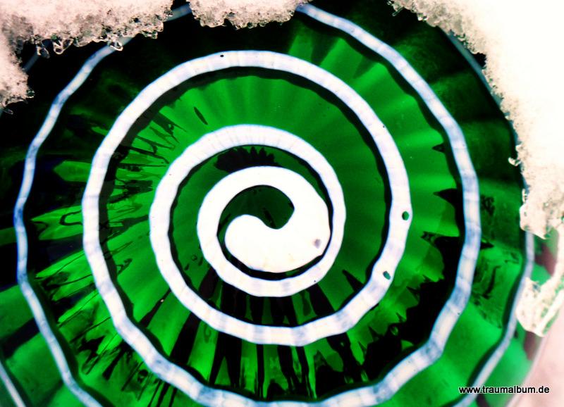 Grüne Spirale für Spiralen ohne Ende #15