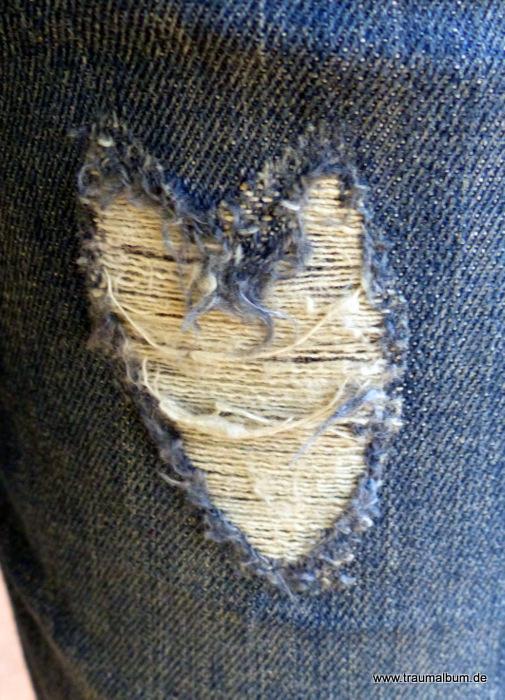 Jeans mit Herz