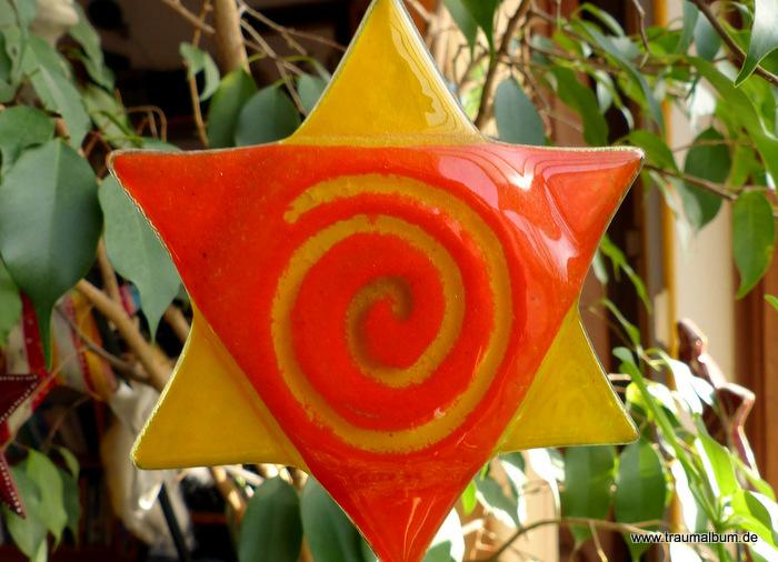 Blumenstecker mit Spirale für Spiralen ohne Ende #19