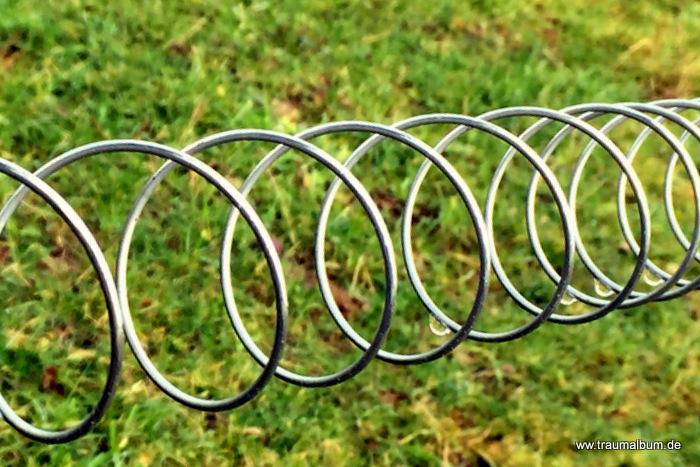 Spiraliger Elektrozaun für Spiralen ohne Ende #18