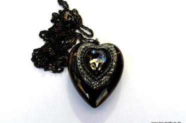 Swarovski Herz mit USB-Stick – Montagsherz #182