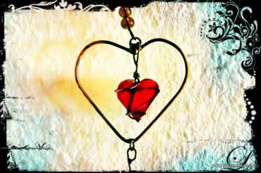 Herz aus Draht für das Montagsherz #185
