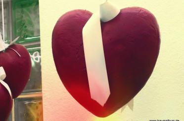 Herz mit Schleife für das Montagsherz #186