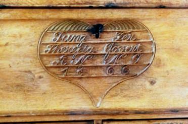 Holztruhe mit Herz für das Montagsherz #187