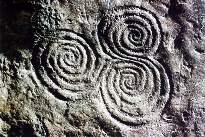 Triskele von Newgrange für Spiralen ohne Ende #20