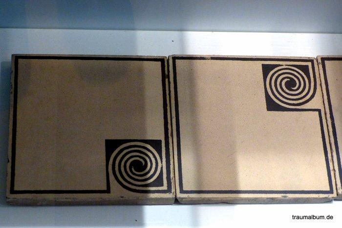 Spiralen auf Bodenfliesen für Spiralen ohne Ende #23